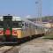 Le ALn668.1401 e 1452 di Fondazione FS hanno effettuato la spola tra la stazione di La Spezia C.Le e il DL di Migliarina - Foto Daniele Barrella