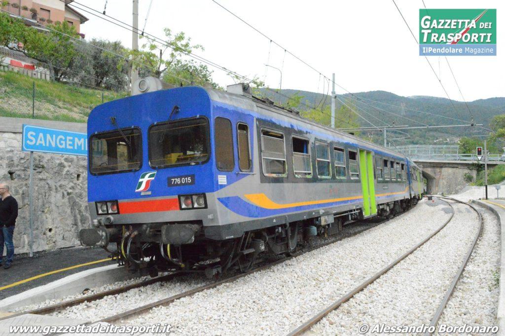 ALn776 di Busitalia in stazione a Sangemini - Foto Alessandro Bordonaro