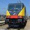 La nova E483.042 Bombardier di Ferrotramviaria in deposito a Bari - Foto Ferrotramviaria spa