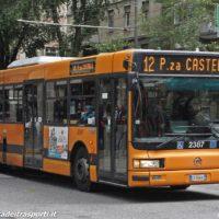 Ultime corse per il bus sostitutivo sulla linea 12 - Foto Manuel Paa