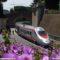 La Stazione Vaticana con il FrecciArgento in sosta - Foto Giuseppe Mondelli