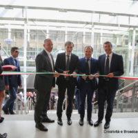 Mazzoncini, Delrio, Monti e Gallo inaugurano Terrazza Termini - Foto FS Italiane