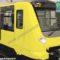 Render dei possibili nuovi treni CAF per la linea 1 della metropolitana di Napoli