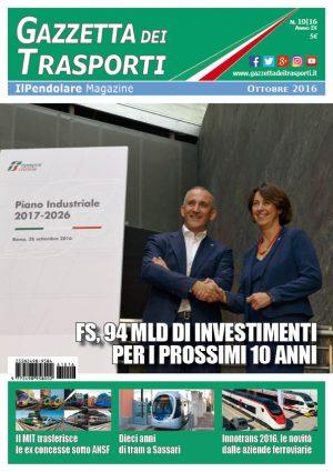Ottobre 2016 - Foto FS Italiane