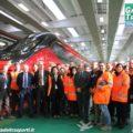 Le maestranze Alstom con il Pendolino EVO - Foto Manuel Paa