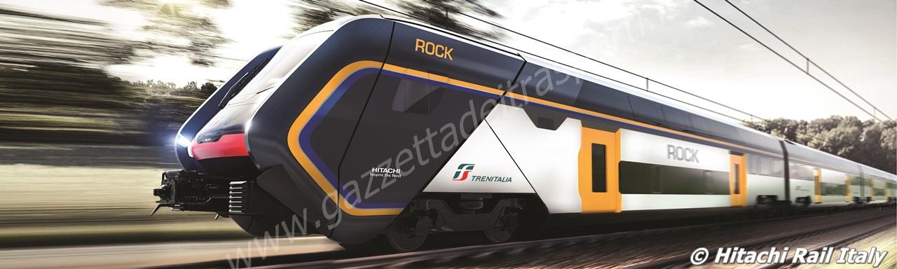 Sezione degli interni della carrozza di testa del treno Rock - Foto ...