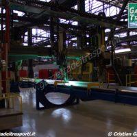 L'avvio della produzione del treno Rock nello stabilimento Hitachi di Pistoia - Foto Cristian Giovangiacomo