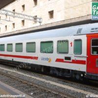 Carrozza Intercity Sun per i collegamenti diurni - Foto Giuseppe Mondelli