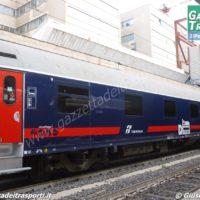 Carrozza Deluxe Intercity Night per i collegamenti notturni - Foto Giuseppe Mondelli