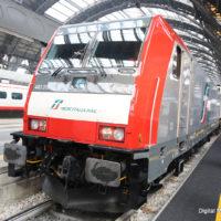 E483 Mercitalia a Milano Centrale - Foto FS Italiane