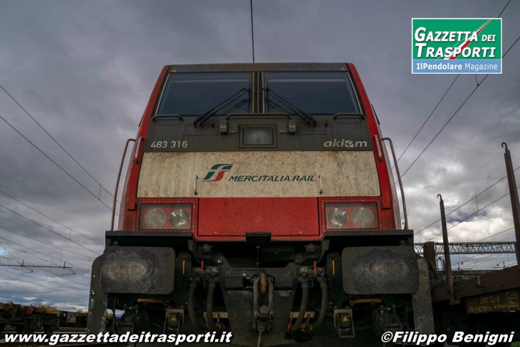 E483.316 di Mercitalia Rail - Foto di Filippo Benigni