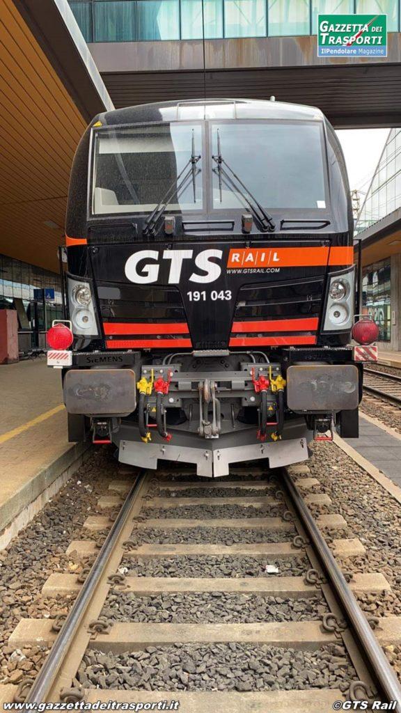 "Siemens E191.043 ""Penelope"" di GTS Rail a Tarvisio Boscoverde - Foto di GTS Rail"