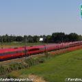 ETR 675 di NTV in doppia (n°12 & 18) in corsa nei pressi di San Fiorano (Lodi) - Foto di Ferdinando Ferrari